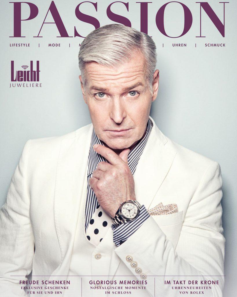 Professionelle Bildbearbeitung & Beautyretusche Coverbild Mann mit Uhr bearbeitet bei Glenpix