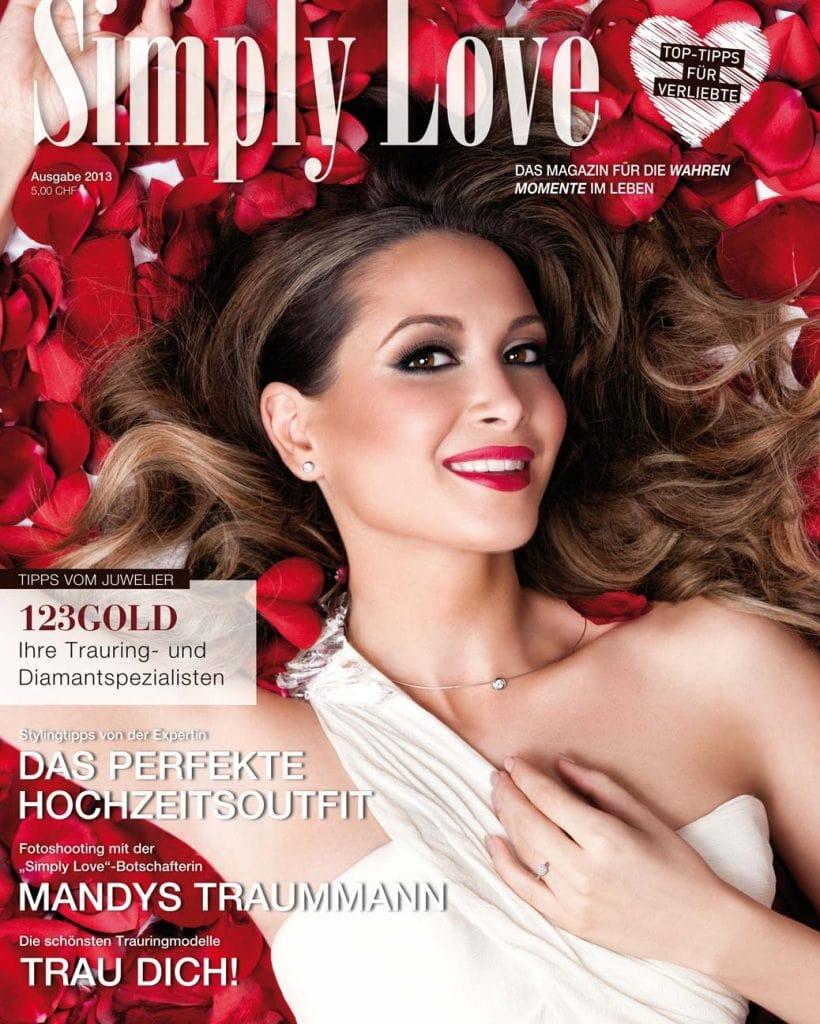 Professionelle Bildbearbeitung & Beautyretusche Magazincover, Mandy Grace Capristo Bildbearbeitung by Glenpix