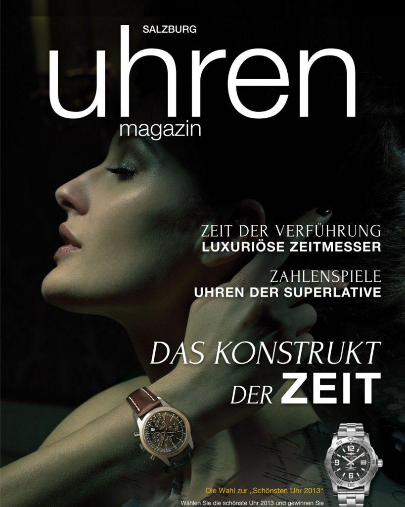 Professionelle Bildbearbeitung & Beautyretusche Magazin Cover Bildbearbeitung Uhrenshooting